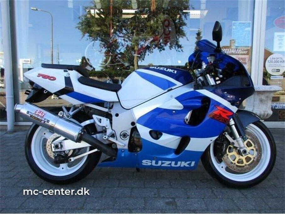 Suzuki, GSXR 750, ccm 750