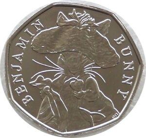 Image Is Loading 2017 Royal Mint Beatrix Potter Benjamin Bunny 50p