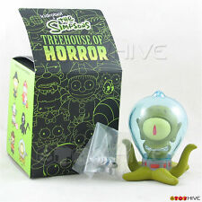 Kidrobot The Simpsons Treehouse of Horror - Alien Kodos with raygun vinyl figure