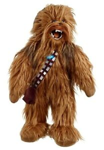 Initiative Peluche Star Wars Mega Poseable Roaring Chewbacca Plush With Movie Sounds 60cm ProcéDéS De Teinture Minutieux