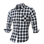 Men-039-s-Long-Sleeve-Casual-Check-Print-Cotton-Work-Flannel-Plaid-Shirt-Top thumbnail 4