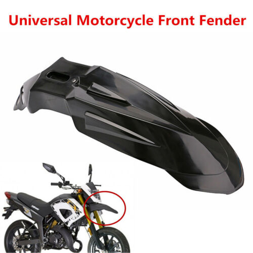 Universal Black Polypropylene Motorcycle Supermoto Front Fender Mud Guard Fender