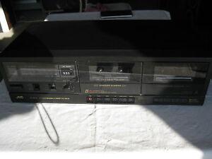 Platine double cassette JVC TD W11 X - France - État : Occasion: Objet ayant été utilisé. Objet présentant quelques marques d'usure superficielle, entirement opérationnel et fonctionnant correctement. Il peut s'agir d'un modle de démonstration ou d'un objet retourné en magasin aprs une - France