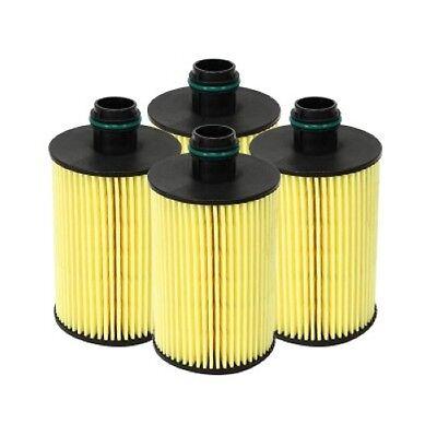 4-pack For 2014-2016 Ram 1500 3.0l Ecodiesel AFE Pro-guard D2 Oil Filter