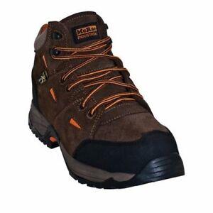 8b7559e2339 Details about McRae MR83701: Men Non-Metallic Composite Toe Metatarsal  Guard Brown Work Boot