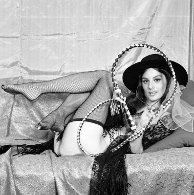 1960s Castano Negative, sexy blonde pin-up girl Gigi