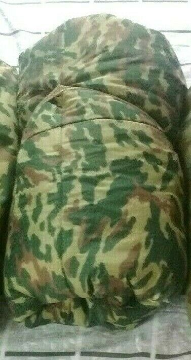 Original Russian Army Sleeping Bag FLORA VSR 93  Chechen war 1990-s size 60  quality first consumers first