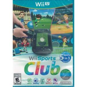 Wii Sports Club - Nintendo Wii U [Tennis Bowling Golf Baseball Boxing] Brand NEW