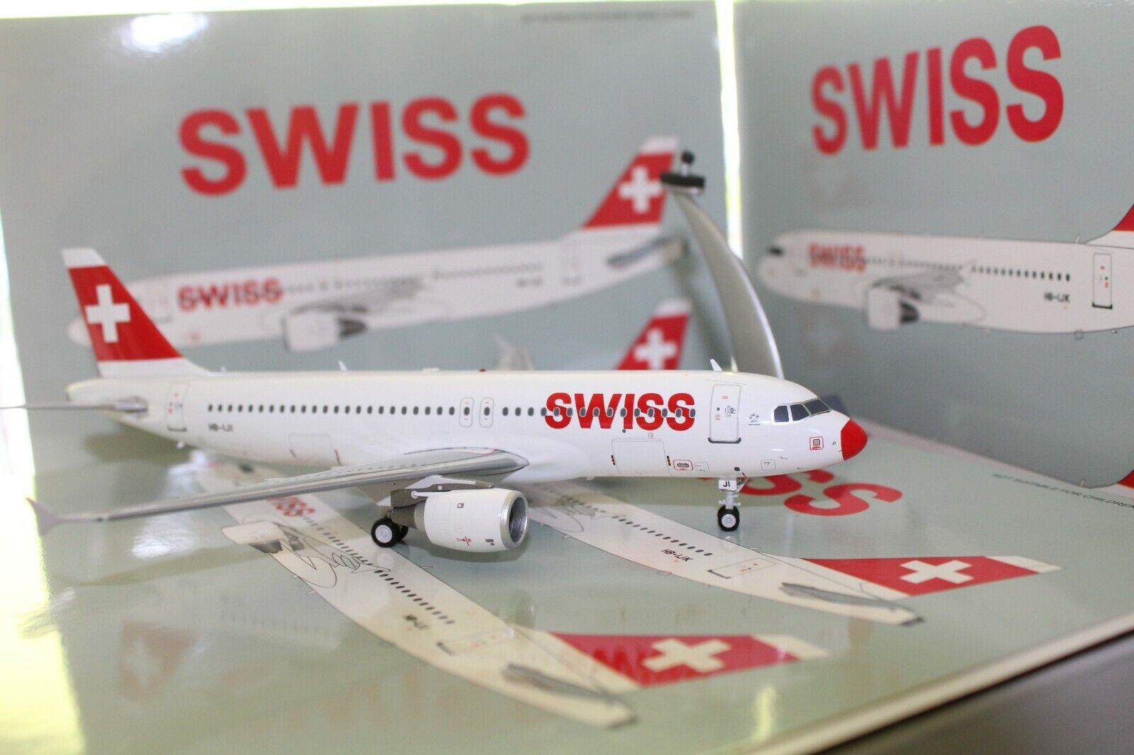 nuevo estilo Swiss A320-200  rojo Nose  (HB-IJI), (HB-IJI), (HB-IJI), 1 200, JFox  productos creativos