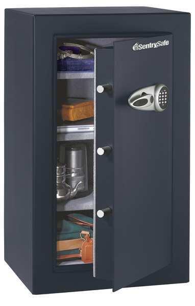 Sentry Safe Caja Fuerte De Seguridad Electrónica De Piso Negro 6.1 Cu. ft. capacidad T0-331