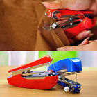 Red Useful Portable Cordless Mini Hand-Held Clothes Sewing Machine Hot Sale