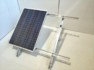 Maß 150x68cm Oder Kleiner Beautiful And Charming Aufständerung 15-30° Für Bis Zu 2 Module Mit Dem Max Erneuerbare Energie Heimwerker