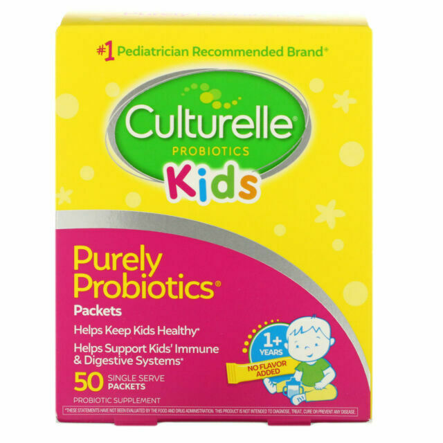 Culturelle Kids Packets Daily Probiotic Powder - 50 Suppleme