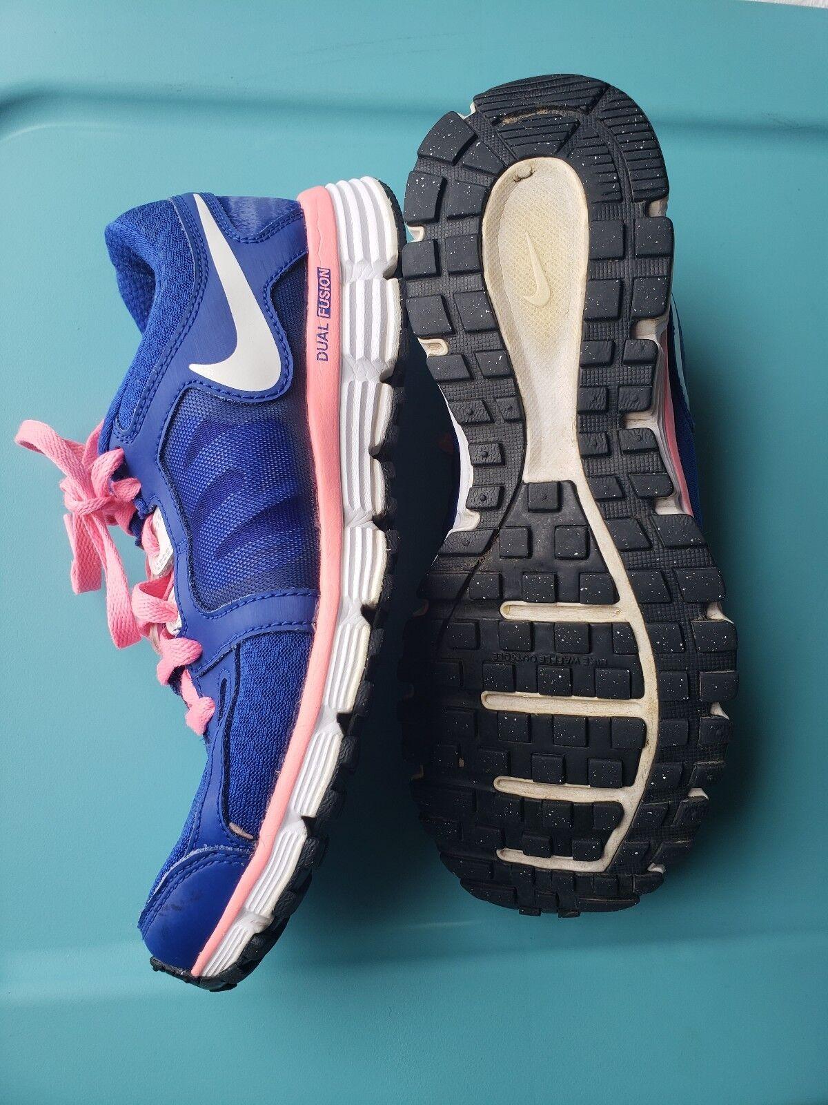 nike doppia fusione blu / rosa in scarpe scarpe scarpe da ginnastica sz - 8 | Molte varietà  | Nuovo Arrivo  | Scolaro/Ragazze Scarpa  2d1d1b