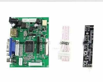 "HDMI+VGA+2AV LCD Display Controller Board Kit for 7"" LCD Monitor Raspberry Pi"