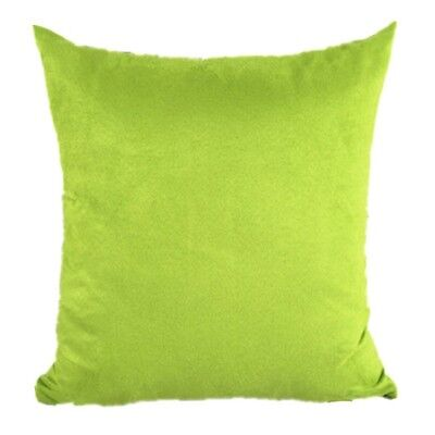 New SuedeNap Couch Cushion Cover Home Decor Sofa Throw Pillow Case Candy Colors