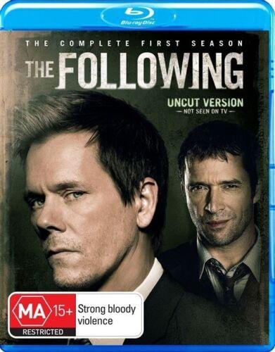 1 of 1 - The Following : Season 1 (Blu-ray, 2013, 3-Disc Set)