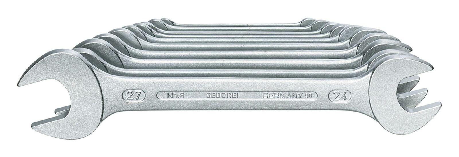 Gedore Doppelmaulschlüssel-Satz D3110 10tlg. 6 - 27mm - 6077540