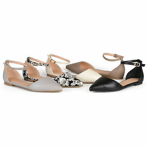 b2402902420f4 Image is loading Journee-Collection-Women-039-s-Almond-Toe-Flats-