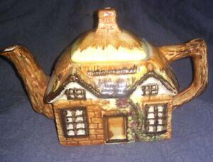 Price-Kensington-Cottage-Ware-Reg-No-845007-Teapot-Ye-Old-Cottage-Vintage