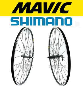Mavic-CXP-Elite-Shimano-RS300-700c-Front-amp-Rear-Bike-Wheel-Set-8-9-10-Speed