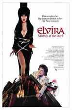 Elvira Mistress Of The Dark Poster 01 Metal Sign A4 12x8 AluminIum