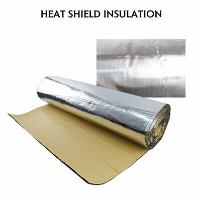 "Heat Shield Sound Deadener Proofing Car Hood Bonnet Insulation Blocker 22/""x39/"""