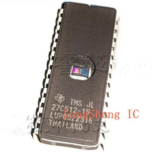1PCS TMS27C512-15JL 65536 BY 8-BIT PROGRAMMABLE READ-ONLY MEMORIES CDIP28 new