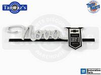 63-64  Nova Chevy Ii  Dash Glove Box Door Emblem