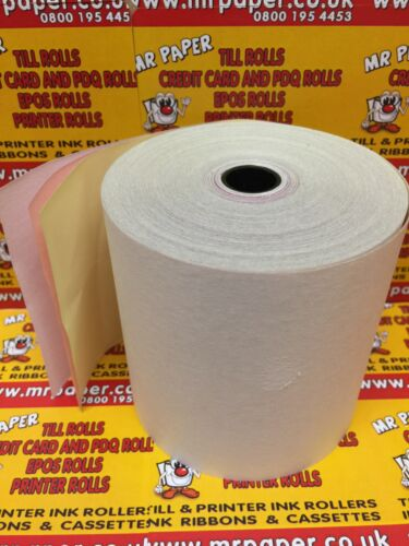from MR PAPER® First Data Star Kitchen Printer Till Rolls 3 Ply Box of 20