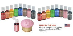 Details about Chefmaster Food Coloring Drops, 8 Vibrant Cake Decorating  Colors, Easter...