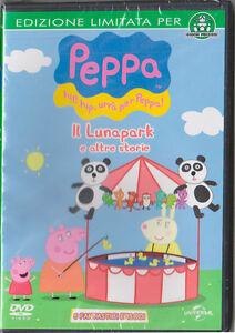 DVD-Peppa-Pig-Il-Lunapark-e-altre-storie-ED-LIMITATA-RARO-NUOVO-E-SIGILLATO