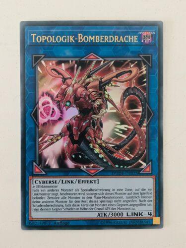 UR YuGiOh DUDE-DE025 Topologik-Bomberdrache NM