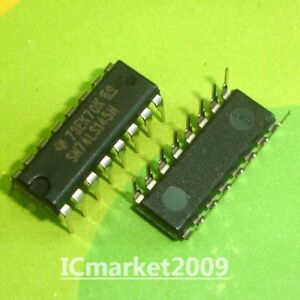 5-PCS-SN74LS145N-DIP-16-74LS145-BCD-TO-DECIMAL-DECODERS-DRIVERS
