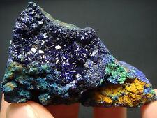 45g Gorgeous Gem Blue AZURITE And Malachite Crystal on Matrix Mineral Specimen