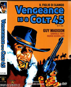 Details about Son of Django / Vengence is a Colt 45 - Guy Madison (NEW)  Spaghetti Western DVD