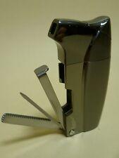 EURO JET  Pfeifen Feuerzeug / Pipe Lighter - black - NEU  - 25707A