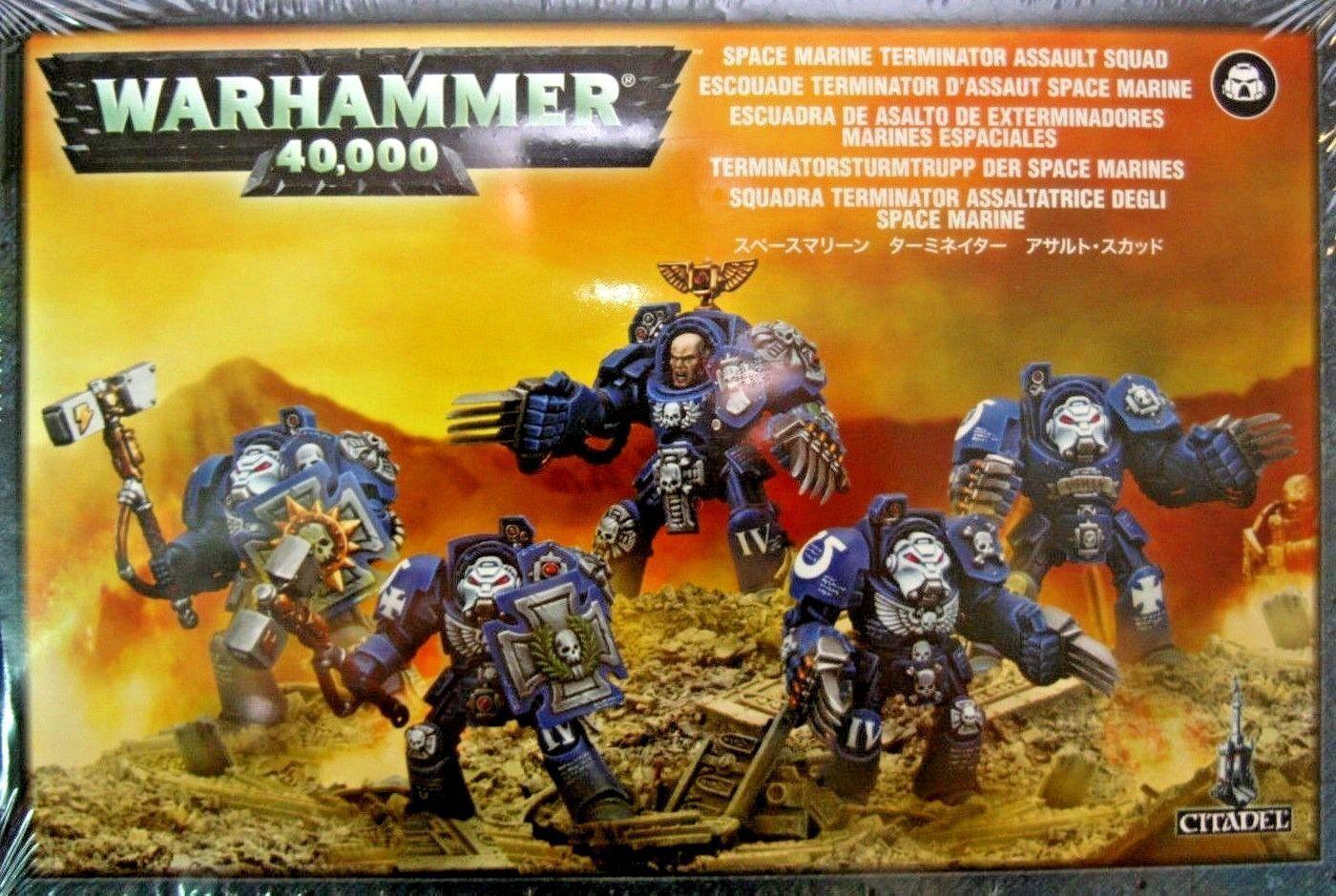 Space Marines TERMINATOR CLOSE COMBAT ASSAULT Squad Games Workshop Warhammer 40K