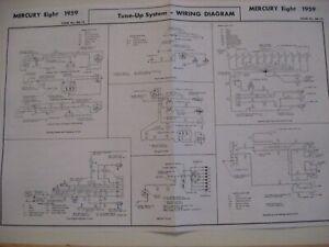 1959 MERCURY PARKLANE COLONY PARK MONTCLAIR WIRING DIAGRAM ...
