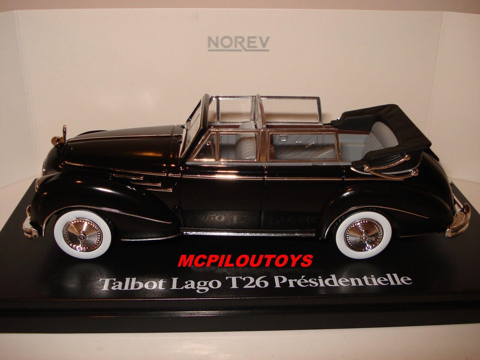 NOREV TALBOT LAGO T26  PRESIDENTIELLE VINCENT AURIOL 1950 1950 1950 au 1 43° 98dab8