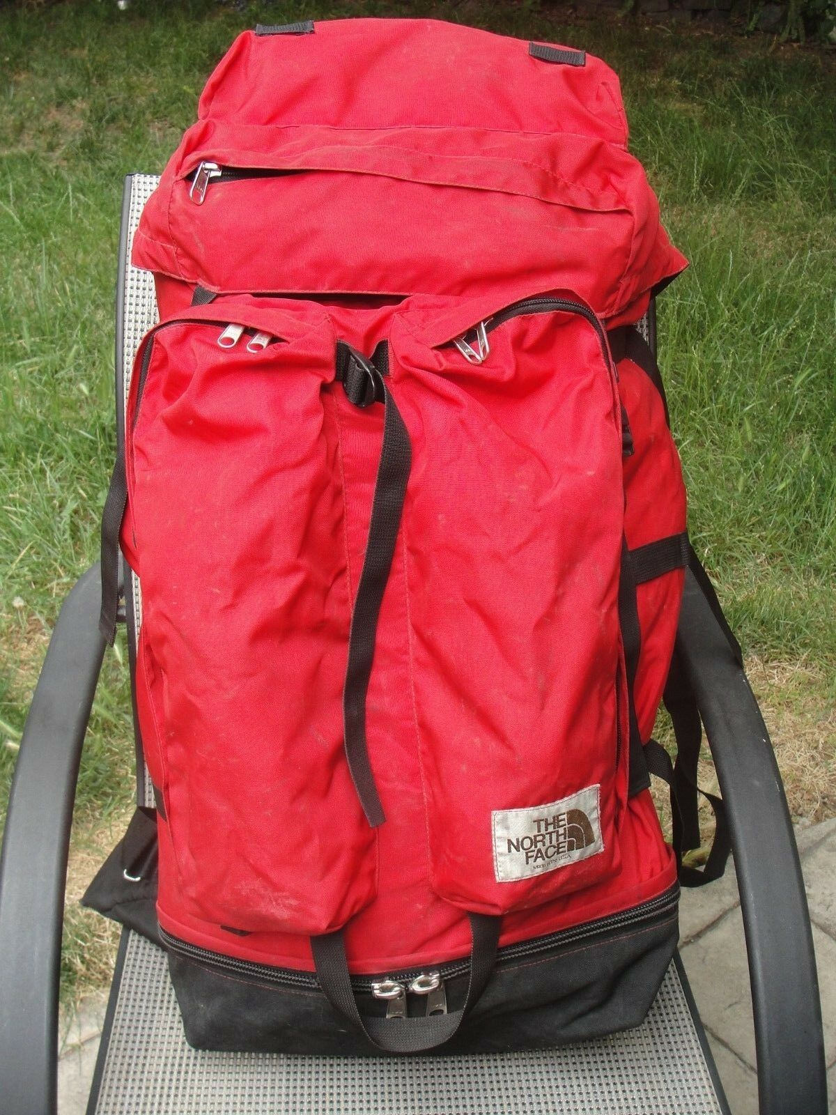 NORTH FACE BACKPACK Marronee tag hire back pack internal frame mountaineering the