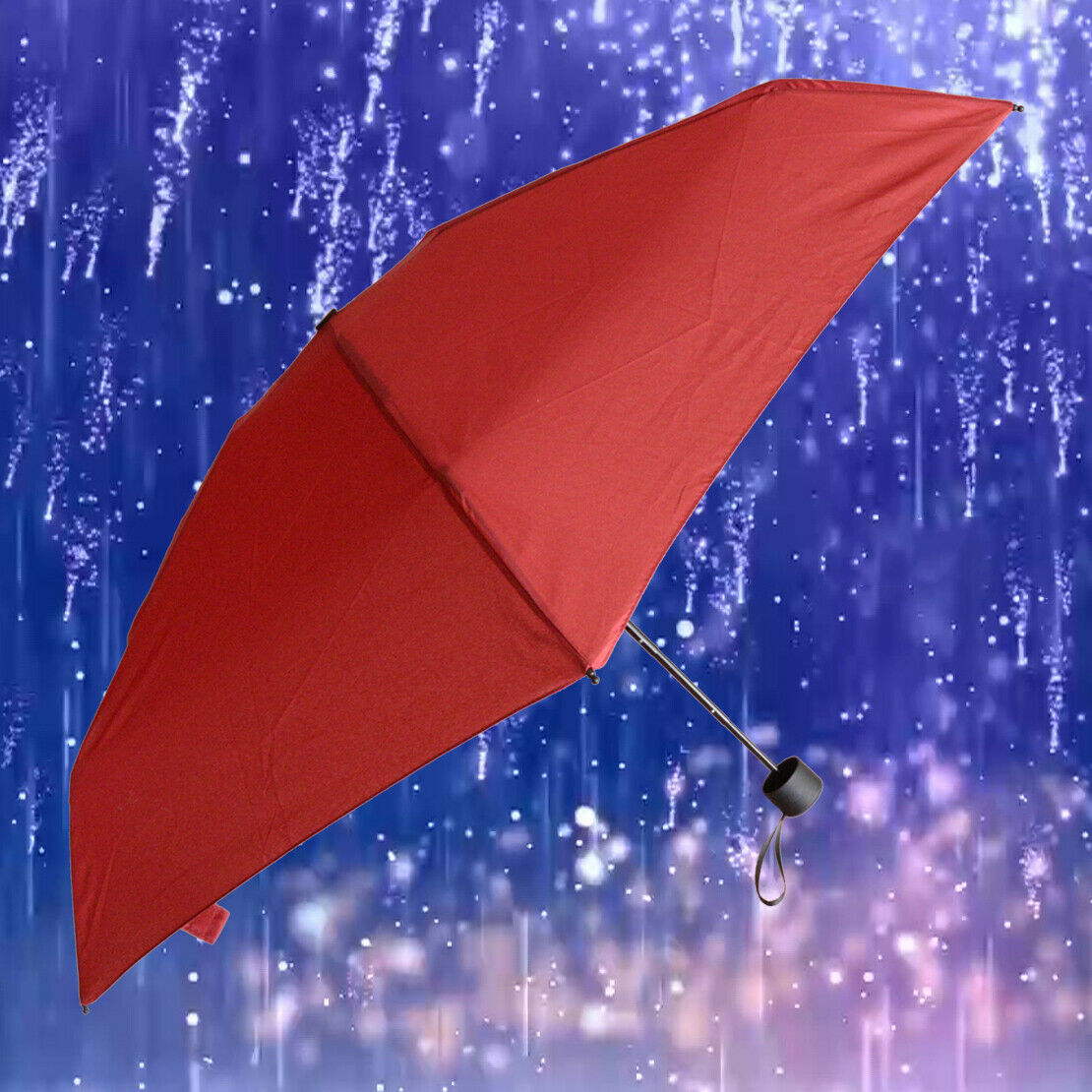 180g Small Folding Umbrella Women Anti-UV Waterproof Portable Travel Pocket cn