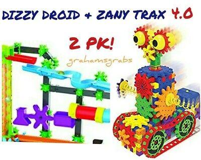 New Techno Gears Marble Mania Zany Trax 4 0 Amp Dizzy Droid