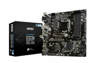 MSI-B360M-PRO-Vdh-Intel-CPU-Socket-LGA-1151-DDR4-M-ATX-Placa-madre-de-juegos