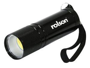Rolson-3-W-S-N-aluminium-lampe-de-poche-Mini-Petite-Torche-Voyage-Camping-Randonnee-61565
