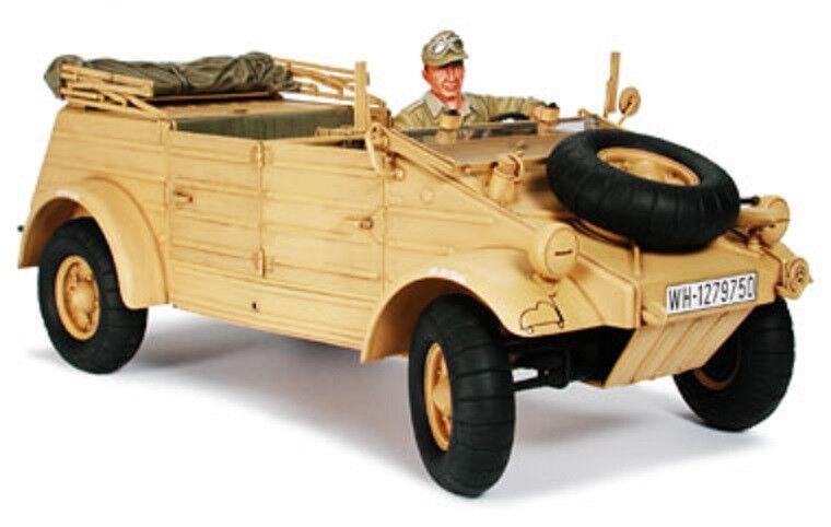 1 16 Tamiya 36202 - German WWII Desert Kubelwagen Type 82 Afrika Korps Model Kit
