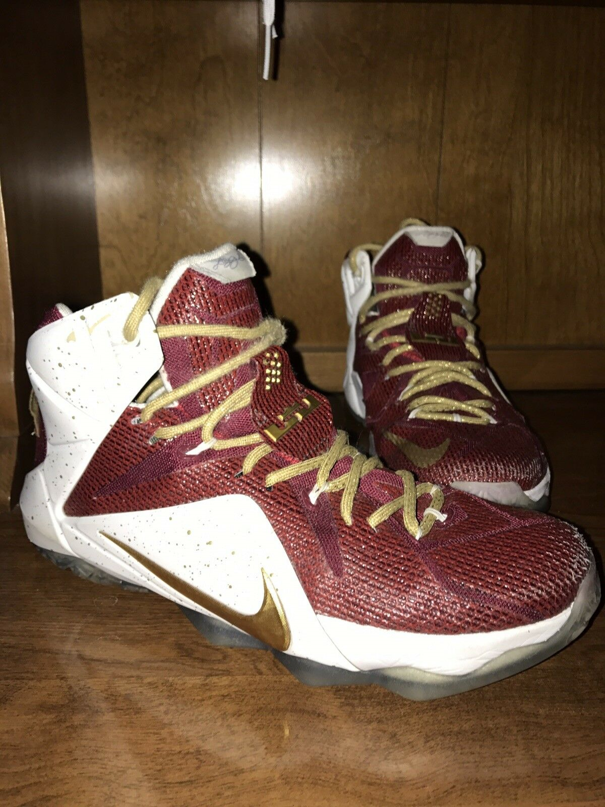 Nike Lebron XII 12 id ID Size Christ 8.5 Mens Cleveland Cavaliers Christ Size The King CTK 9f36fd