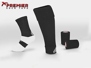 *BRAND NEW* PREMIER SOCK TAPE - SOCK TAPING KIT - 12 DIFFERENT COLOURS