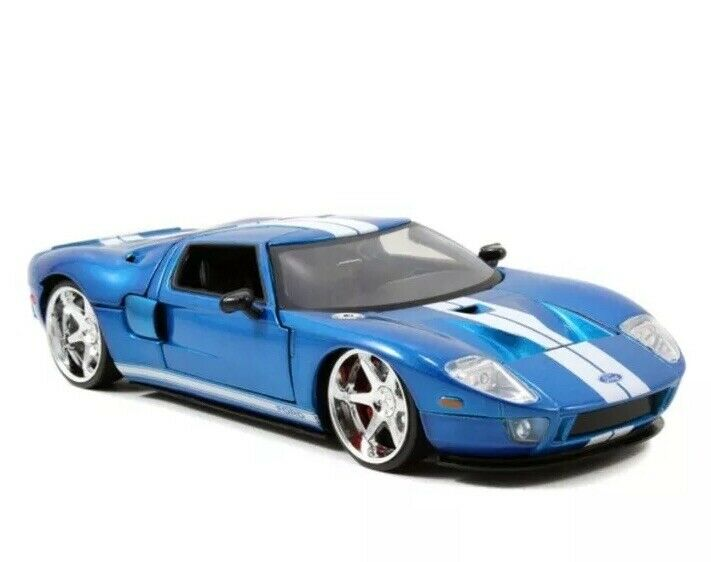 Fast And Furious Ford GT DieCast DieCast DieCast 1 24  Jada 118