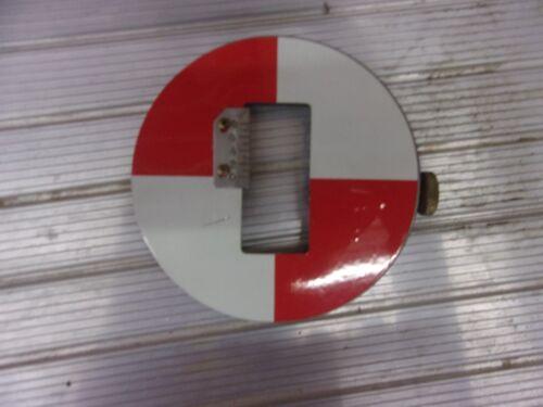 "POST Brand 6/"" Oval Target for a Surveyor/'s Transit Stick w//Gauge"